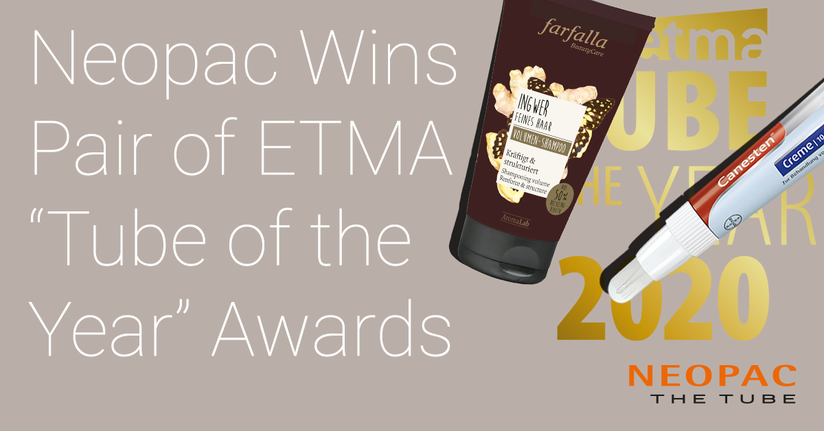 Neopac The Tube Etma Tube Of The Year 2020