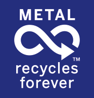 Logo Metal Recycles Forever