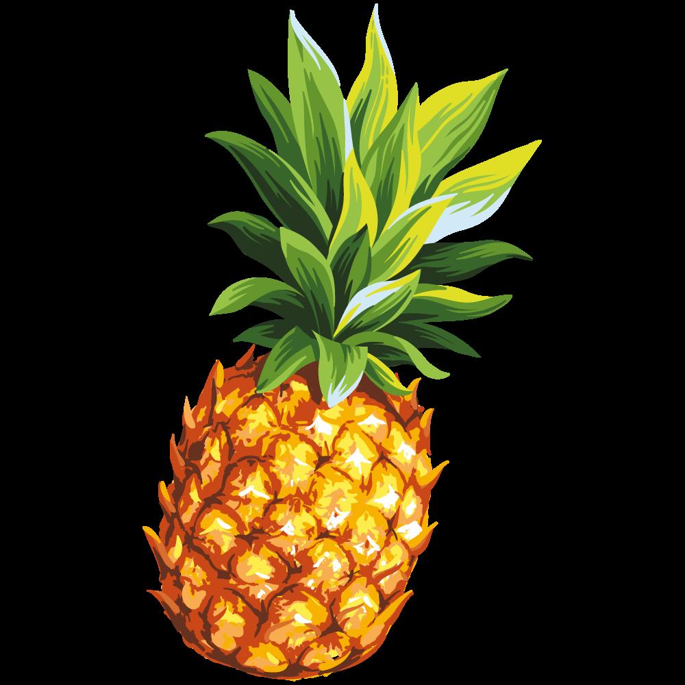Springtube Ananas Sideimage